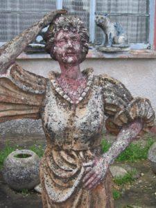 statue du jardin de Gabriel nantillé