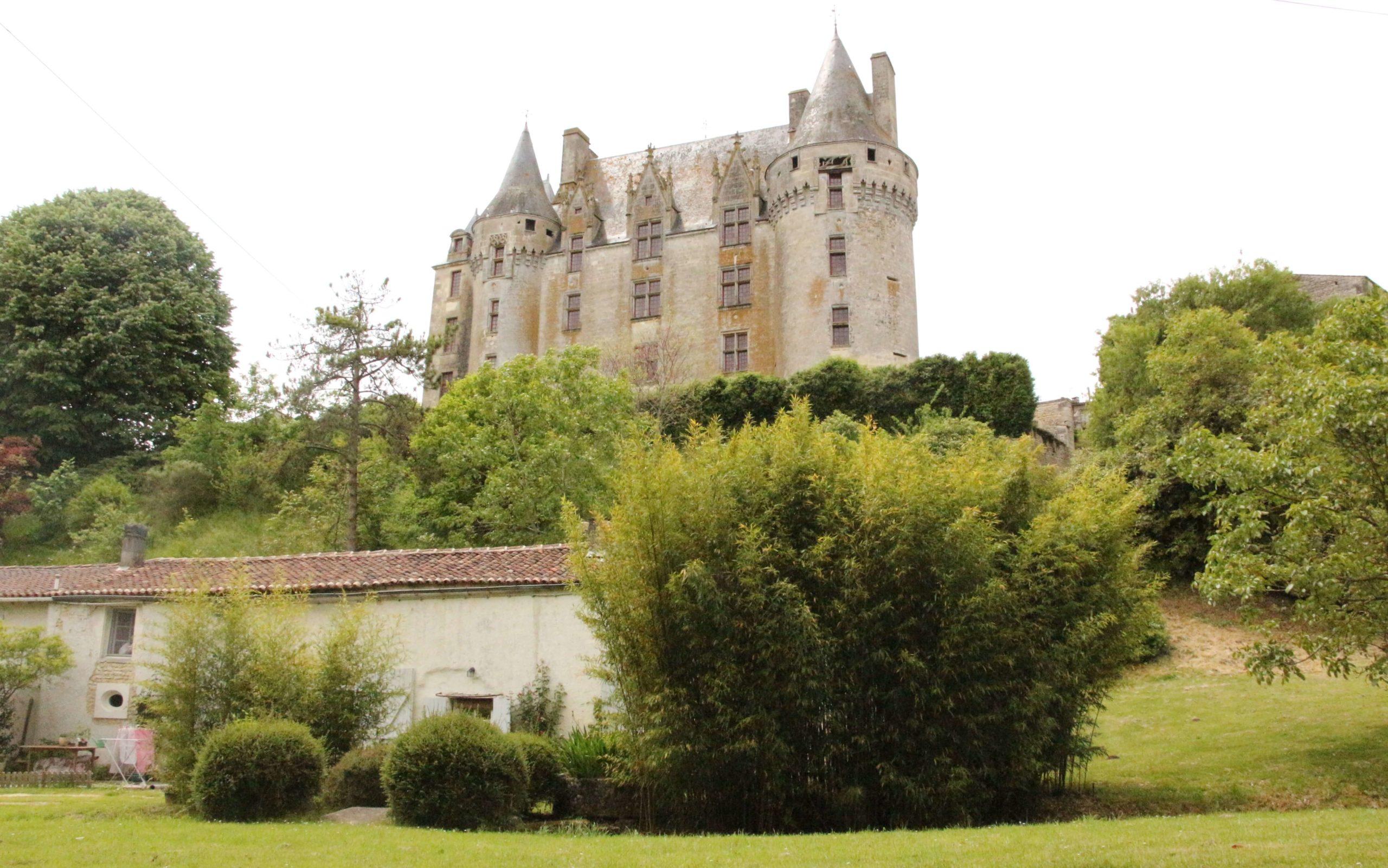 Château de neuvicq gothique