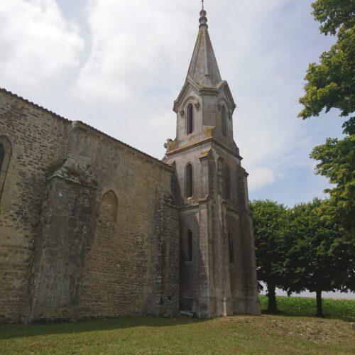 Chapelle Sainte Radegonde, vue extérieur
