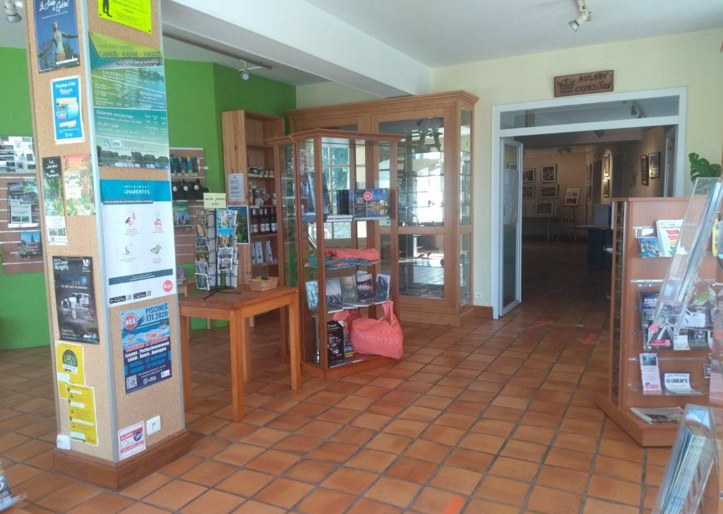 bureau d'information touristique d' Aulnay de Saintonge