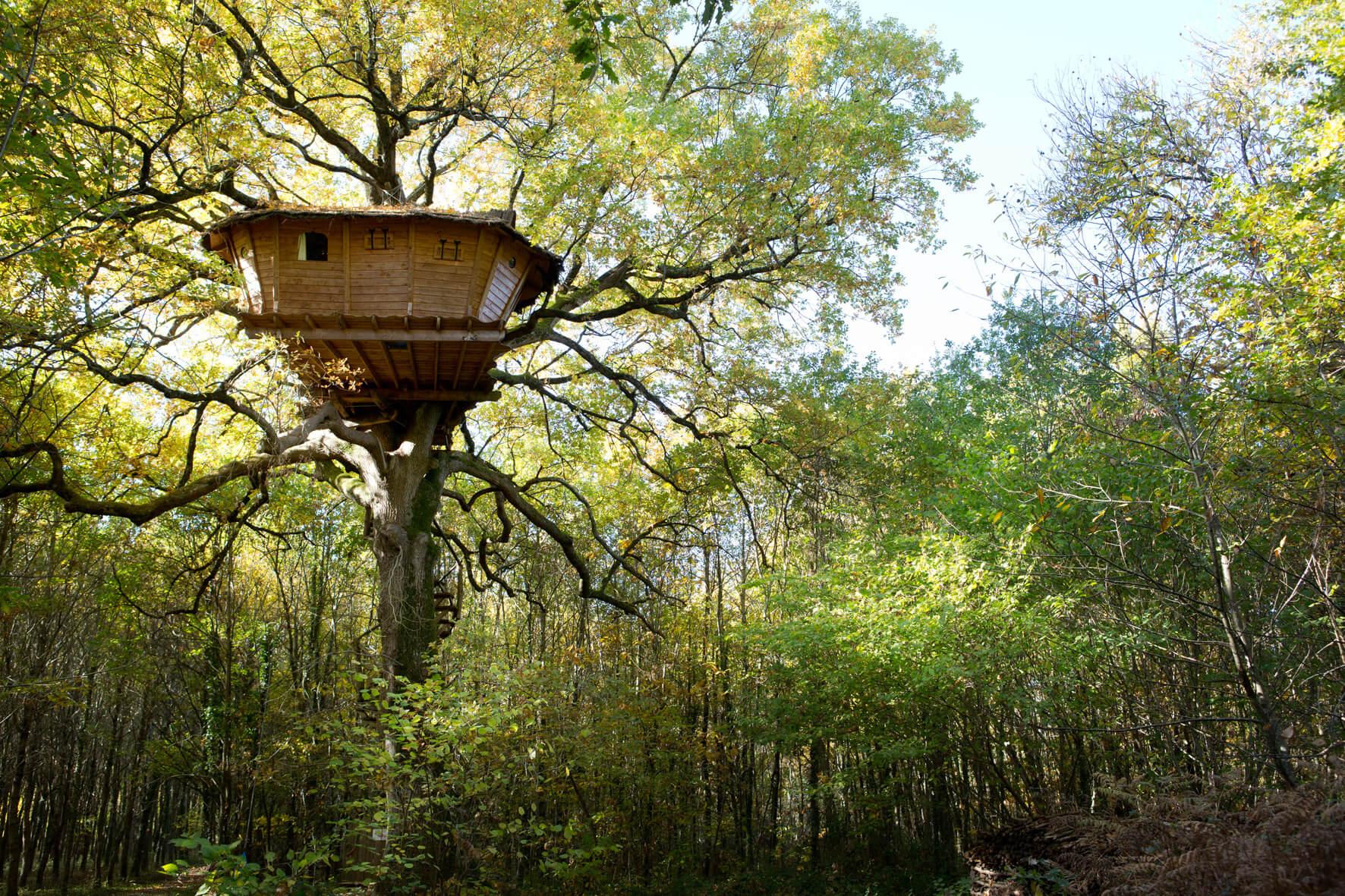 les cabanes de bois Charmant Le Nouillers